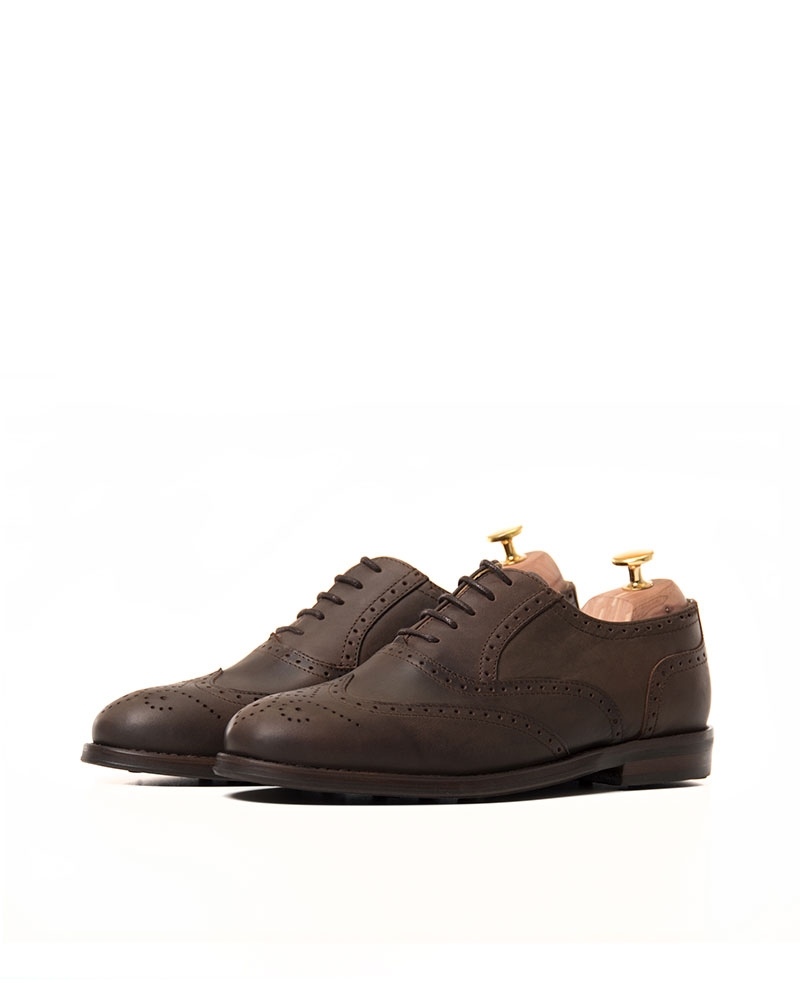 Zapatos Brogue Marrón